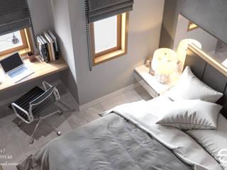Kamar Anak Batununggal :  Kamar tidur anak by Ectic