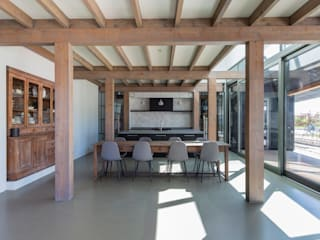 Longhouse Moderne woonkamers van Boon architecten Modern