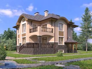 Глория-2_405 кв.м: Дома в . Автор – Vesco Construction