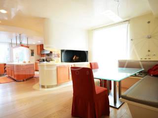 Comedores de estilo moderno de Borea immobiliare Moderno