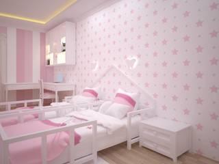 VOGUE MİMARLIK ATÖLYESİ – Nihat bey dairesi:  tarz Çocuk Odası