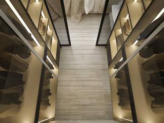 VOGUE MİMARLIK ATÖLYESİ – Nihat bey dairesi:  tarz Giyinme Odası