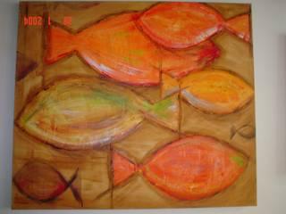 de estilo  por Atelier de Pintura Anette Schnaider, Moderno