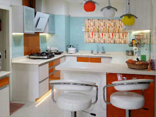 Designing project:  Kitchen by Honeybee Interior Designers