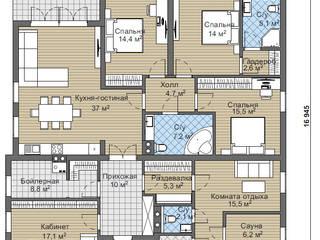 Дафни_188 кв.м: Дома в . Автор – Vesco Construction