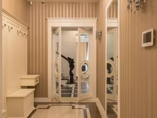 Частный дизайнер и декоратор Девятайкина Софья Eclectic corridor, hallway & stairs