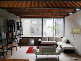 Salon moderne par Apaloosa Estudio de Arquitectura y Diseño Moderne