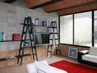 Salon minimaliste par Apaloosa Estudio de Arquitectura y Diseño Minimaliste