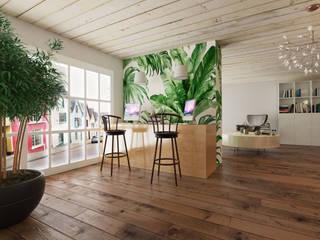 Rengin Mimarlık Minimalist study/office