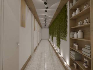 Güzellik Merkezi Projesi - Tarsus/Mersin Modern Klinikler Rengin Mimarlık Modern