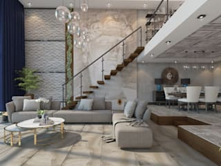Rengin Mimarlık – Yapı-Dekorasyon Firması için Ürün Tanıtım Projesi - Mersin: modern tarz , Modern