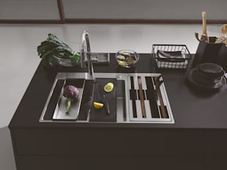Franke GmbH Cocinas de estilo moderno