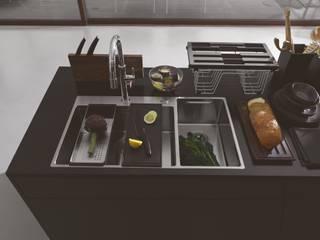 Franke GmbH 現代廚房設計點子、靈感&圖片