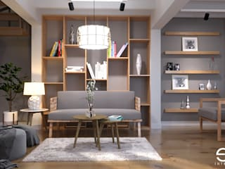 Modern living room by Ectic Modern
