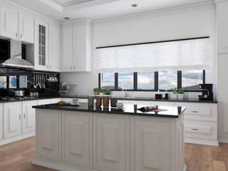 Kitchen set bergaya modern klasik:  Dapur built in by PT. Leeyaqat Karya Pratama