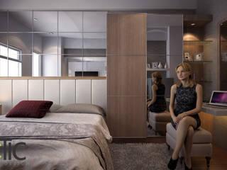 Apartemen Eston Park Tipe Studio - Jatinangor Bandung:  Ruang Kerja by Ectic