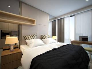 Apartemen Jakarta:  Kamar tidur anak by Ectic