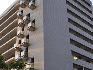PROJECTO_CONDOMÍNIO HABITACIONAL | Luanda | AO: Condomínios  por OW ARQUITECTOS lda | simplicity works,Eclético