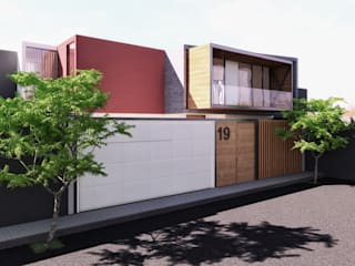 Modern Houses by TECTONICA STUDIO SAC Modern