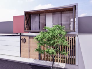 Casas modernas de TECTONICA STUDIO SAC Moderno