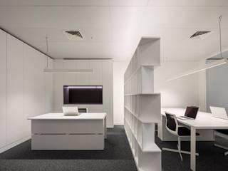 RECEPÇÃO: Escritórios e Espaços de trabalho  por OW ARQUITECTOS lda   simplicity works