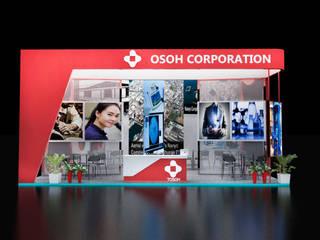 Tosho Exhibition at Mumbai expo fair:   by Kreis Design Studio