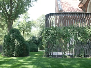 Andrew van Egmond (ontwerp van tuin en landschap) Classic style garden
