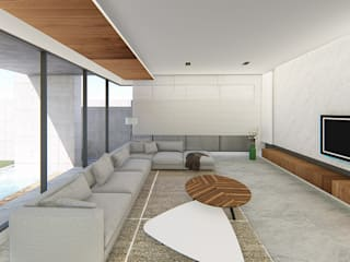 Modern living room by 尋樸建築師事務所 Modern