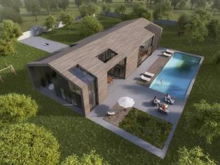 Slash Architects – Akçakoca Haftasonu Evi:  tarz Bahçe