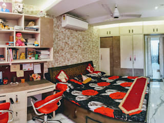 Residence interiors at Chandigarh Modern style bedroom by ARC INDUSTRIES Interior Design Modern