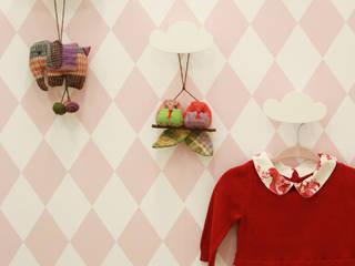 Suíte do Bebê: Quartos de bebê  por ALESSANDRA  NAHAS arquitetura