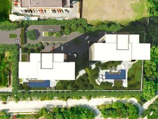 Levana Sky Homes: Jardines de estilo  por camargo arquitectos