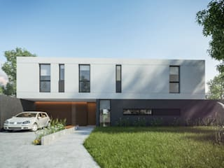 Modern houses by TDC - Oficina de arquitectura Modern