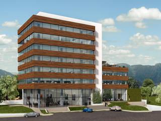 Décima: Edificios de Oficinas de estilo  por camargo arquitectos