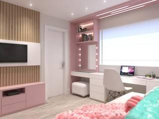 Quarto de menina : Quartos das meninas  por Ana Cano Milman arquitetura e design de interiores