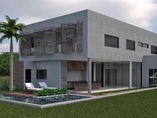 Casa P+G: Condomínios  por ALESSANDRA  NAHAS arquitetura