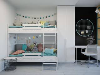 Children's room for two girls от Оксана Мухина Скандинавский