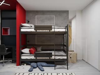 Children's room for two boys от Оксана Мухина Минимализм