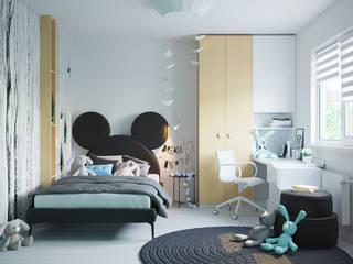 Room for one little girl от Оксана Мухина Скандинавский