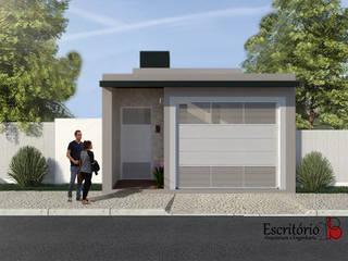 modern  by Escritório 2B - Arquitetura e engenharia, Modern