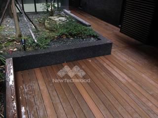 Terrazas de estilo  de 新綠境實業有限公司, Asiático