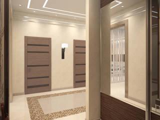 Частный дом в Ейске.: Коридор и прихожая в . Автор – PolyArt Design,