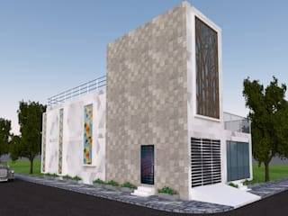 Houses by Gurooji Designs, Modern