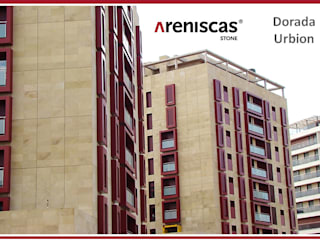 Classic office buildings by ARENISCAS STONE Classic