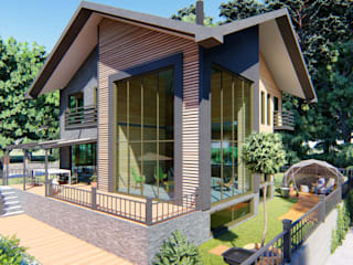 Ahşap Villa Mımarıf Archıtecture Modern