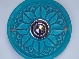Türklingel aus Keramik:  Landhaus von Keramikwerkstatt Johanna Brückner
