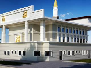 Bitlis Camii Modern Duvar & Zemin Mımarıf Archıtecture Modern