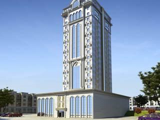 Dış mekanlar Modern Duvar & Zemin Mımarıf Archıtecture Modern