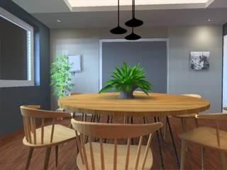 Modern dining room by PE. Projectos de Engenharia, LDa Modern