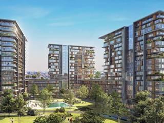 Casas modernas de Ezgi Yüce Mimarlık AŞ. Moderno
